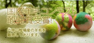 国際羊毛コンテスト敢闘賞受賞!