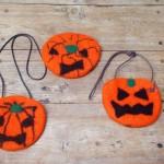ハロウィンかぼちゃのフェルト作り教室