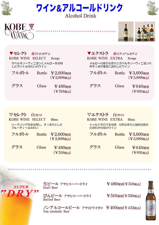 ワイン&アルコール