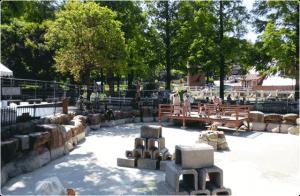 ヤギの広場