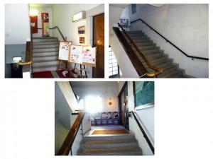 レストラン神戸チーズの階段