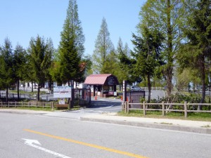 南ゲート・南駐車場入口