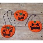 ハロウィンかぼちゃのフェルト教室